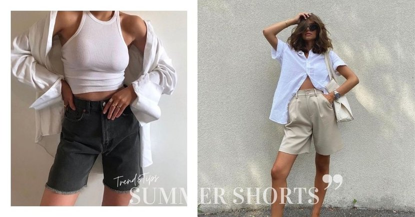 今夏不容錯過的「五分褲」趨勢,剛剛好的長度穿出顯瘦、時尚的Boyish Style!
