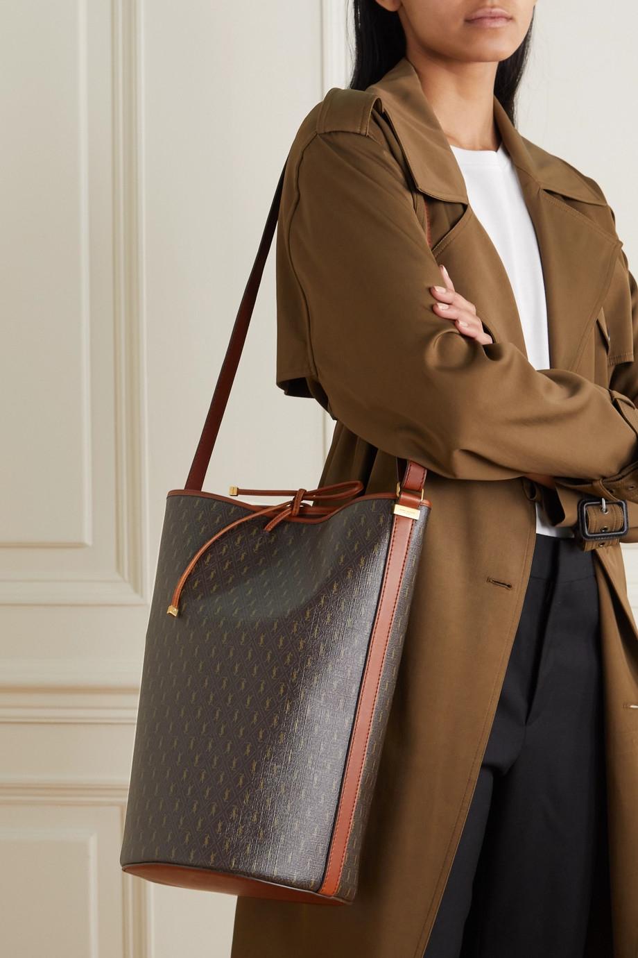 令時尚圈大開眼界的設計:Saint Laurent最新秋冬設計「復古老花手袋」傳達知性的女人最性感