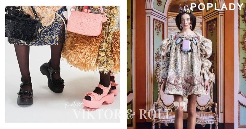 顛覆傳統的環保合作:Viktor & Rolf x Melissa配飾系列,讓大眾一嘗高級訂造的精緻手藝