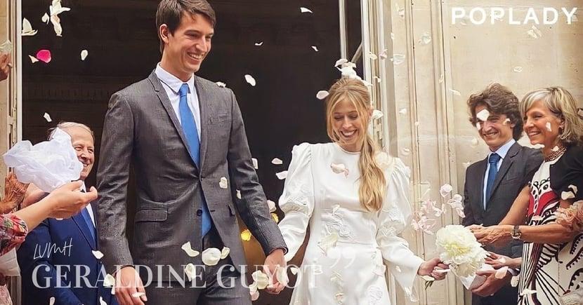 巴黎的低調上流婚禮:Geraldine Guyot躍身成為LVMH二太子妃,不靠男方也是一位能力強大的獨立女性