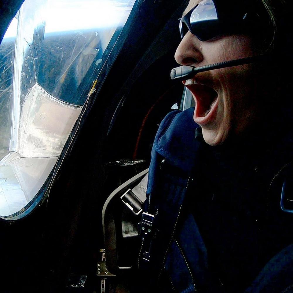 「第一位乘坐太空飛機的女性」,首席太空人教練「面對夢想,你不應該將就」
