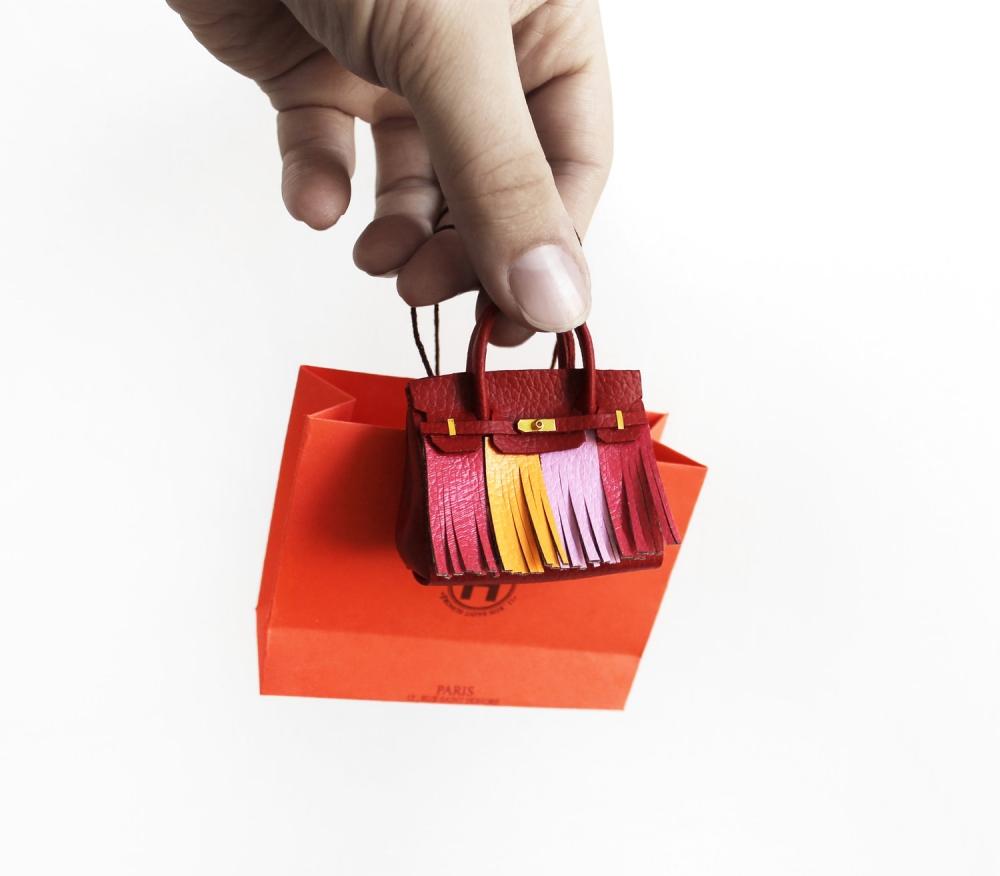 創作出現實中遙不可及夢想:藝術家Phillip Nuveen的「微型精品手袋」連Hermès都為之著迷