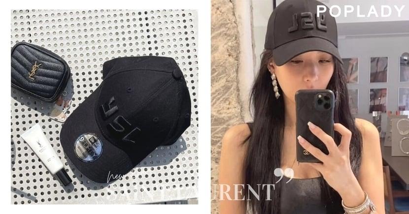 Saint Laurent竟聯乘New Era! BLACKPINK Rosé、莫莉也愛高質感全黑 YSL Logo棒球帽悄悄上架