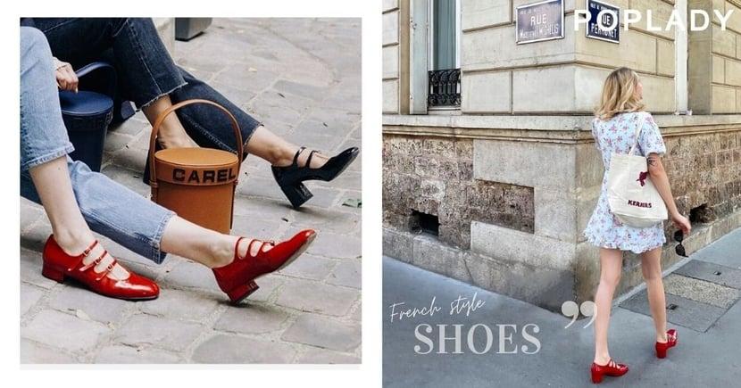 法國博主喜愛的小眾品牌鞋履推薦,今夏法國女人最時髦的選擇是性感亮紅色!