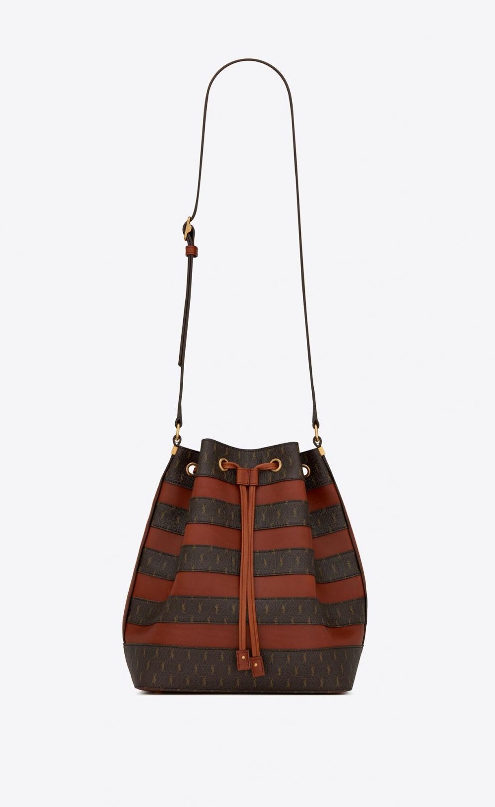 令時尚圈大開眼界的設計:Saint Laurent最新秋冬設計「復古老花色手袋」傳達知性的女人最性感