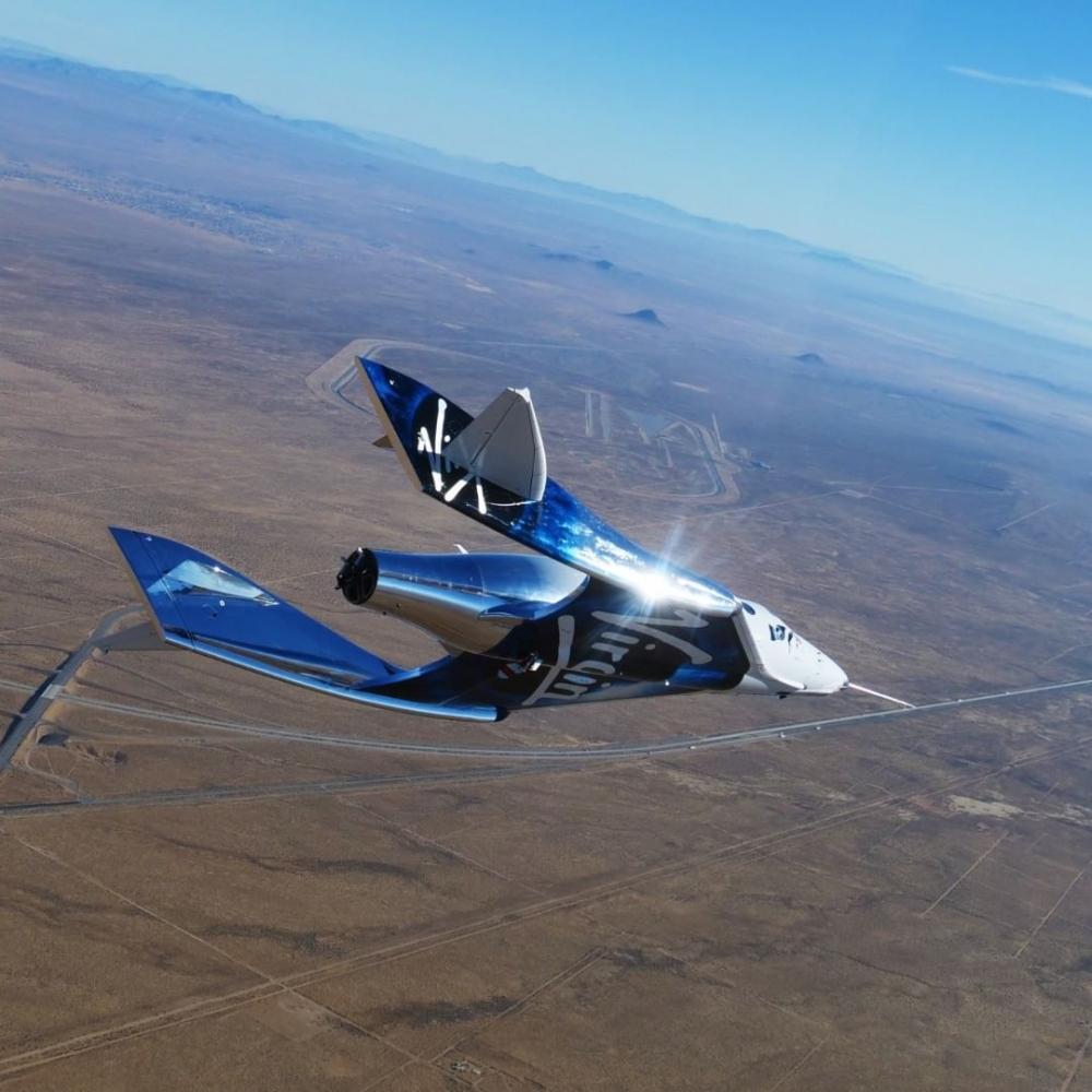 「第一位乘坐太空飛機的女性」,首席太空人教練Beth Moses「面對夢想,你不應該將就