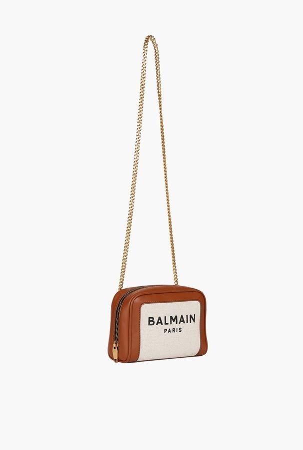 Balmain B-Army帆布相機袋將實用功能與現代氣息完美結合