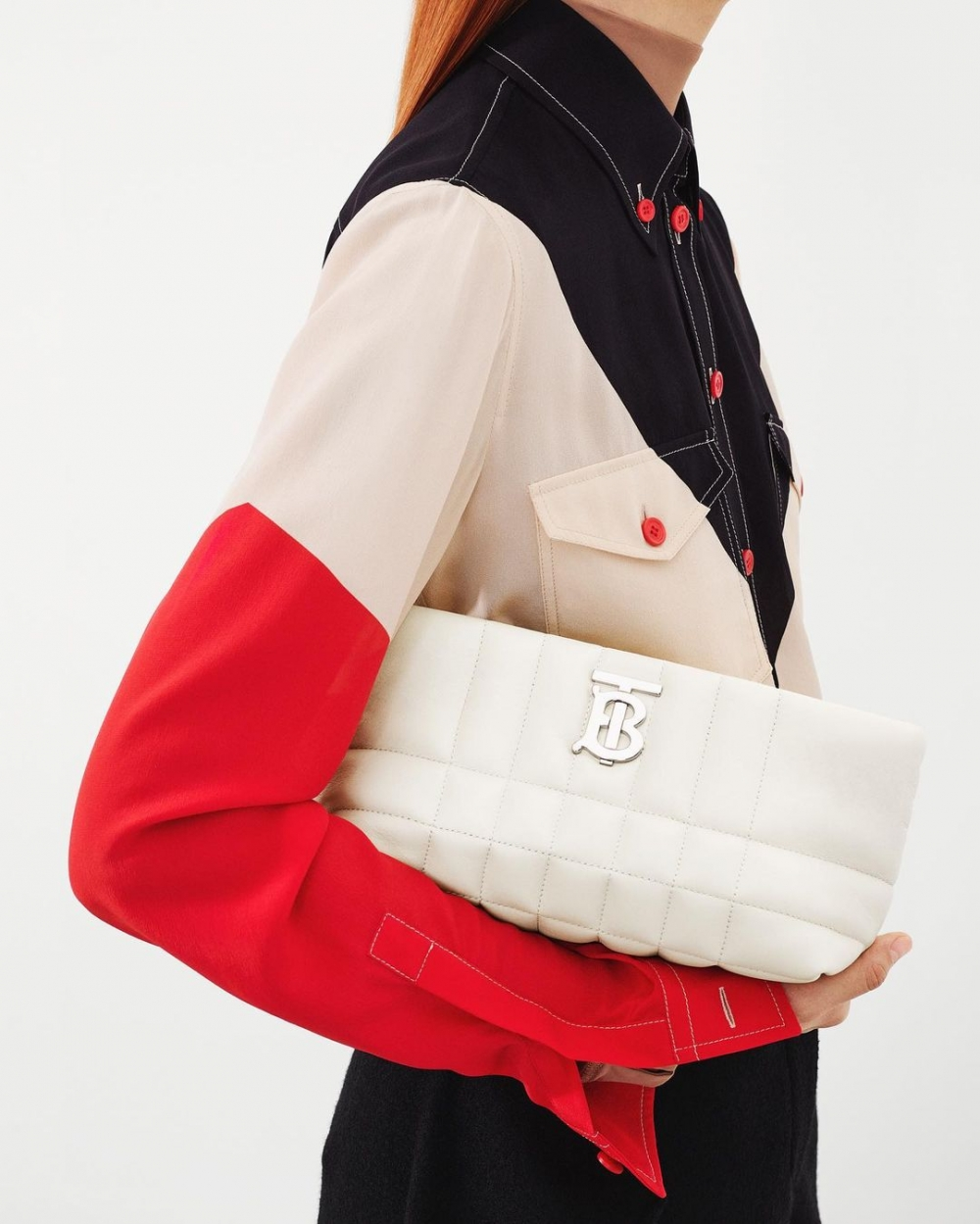 Burberry Small Quilted Lambskin Soft Lola Bag