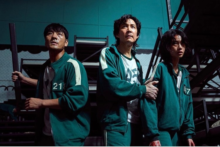 在劇中死裡求生的姜曉,在現實生活中是一位超模
