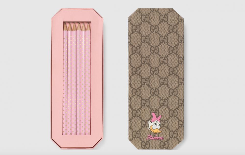 粉色黛西的鉛筆組