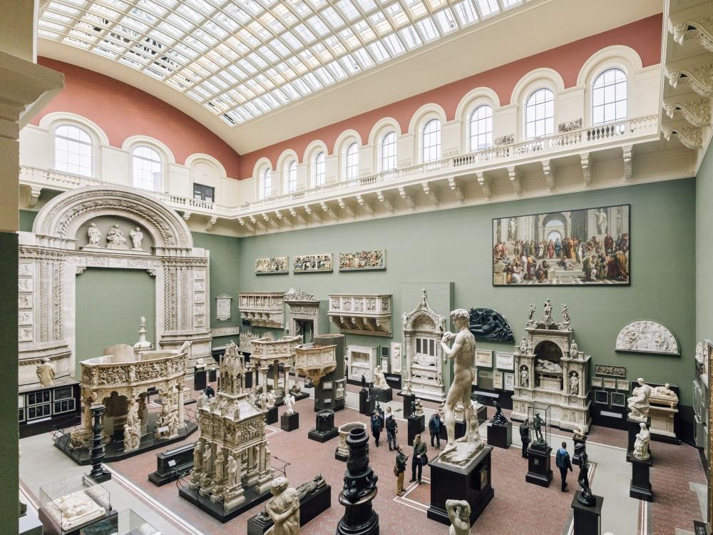 V&A Museum會不定期舉辦合作展覽
