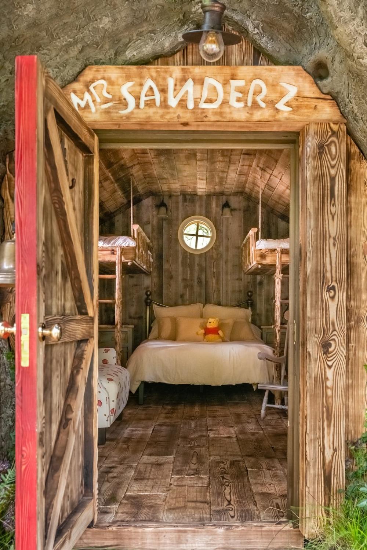 小熊維尼的樹屋,住在這裡能遠離塵囂