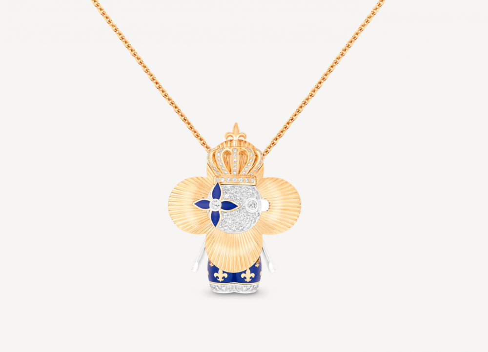 有著金色太陽光芒的設計,Vivienne Royal是你無法忽略的款式