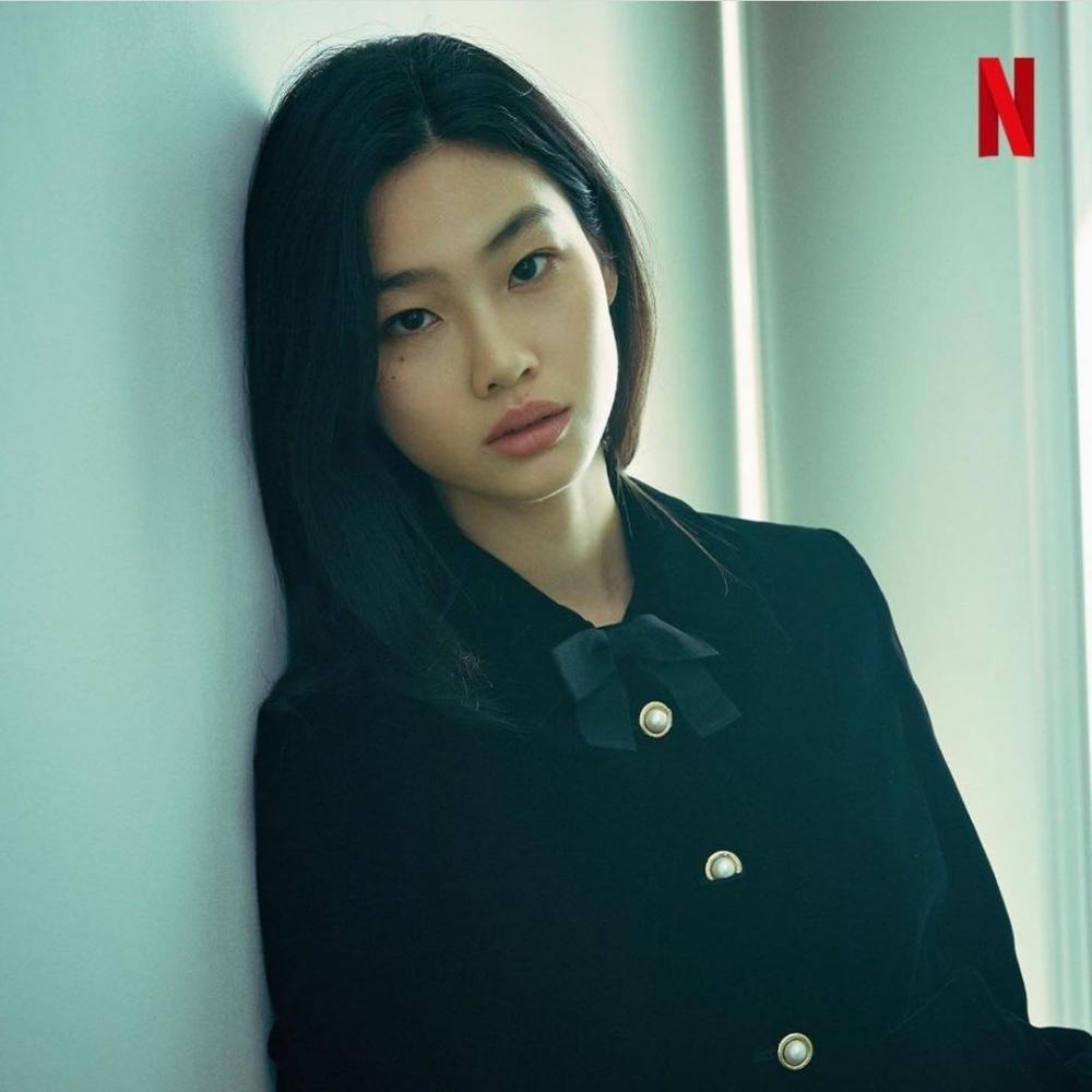 在Netflix熱門影集魷魚游戲中擔任女主角