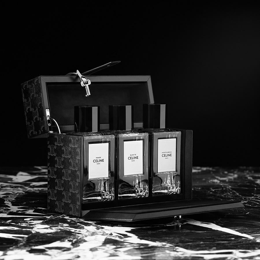 CELINE創意總監Hedi Slimane上任後親自設計的首個高級訂製香水系列Haute Parfumerie
