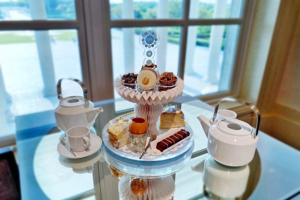 精緻又美味的下午茶就在深藍咖啡廳之中
