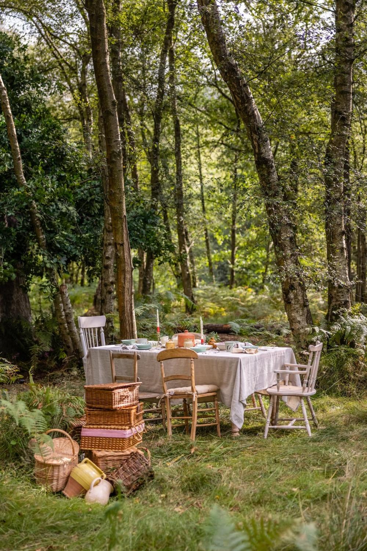 在室外享用蜂蜜大餐,感受自然的靜謐
