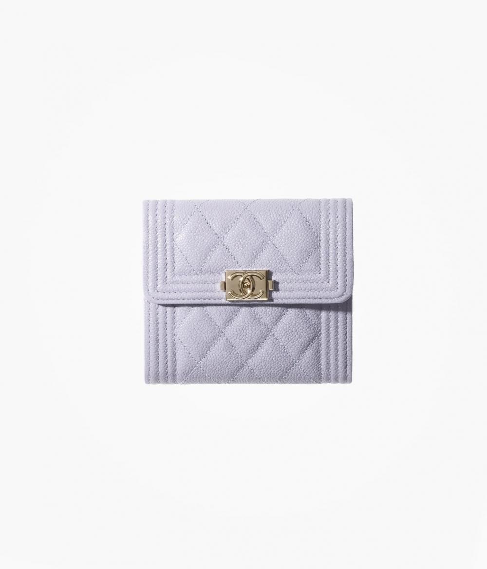 CHANEL Boy Chanel Small Flap Wallet