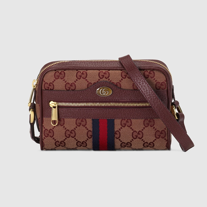 Gucci Ophidia Mini Bag With Web
