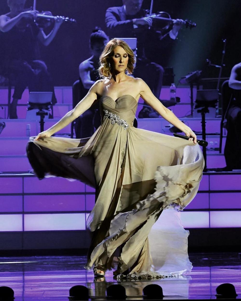 真誠的Celine Dion自然深受眾人的欣賞, 並不是沒有原因