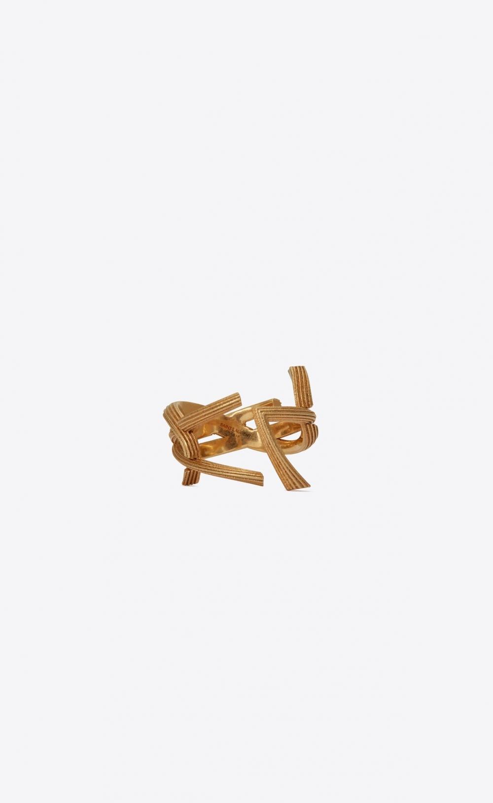 Saint Laurent Monogram Ring