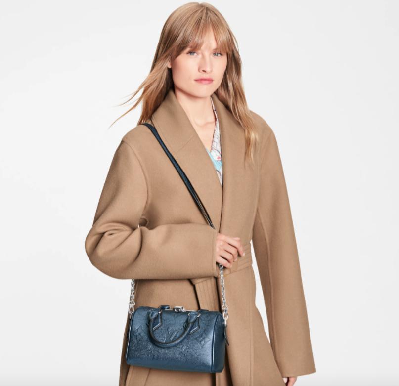 別緻迷人的Speedy Bandoulière 20手袋是締造Louis Vuitton設計歷史中的殿堂級款式