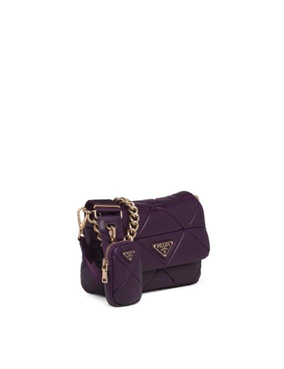 Prada System Nappa Leather Patchwork Bag