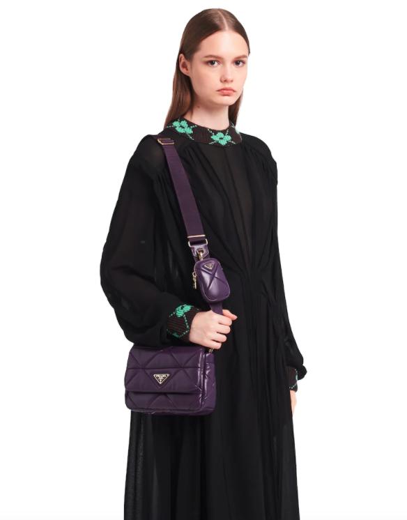 Prada以全新方式重新詮釋Patchwork Bag