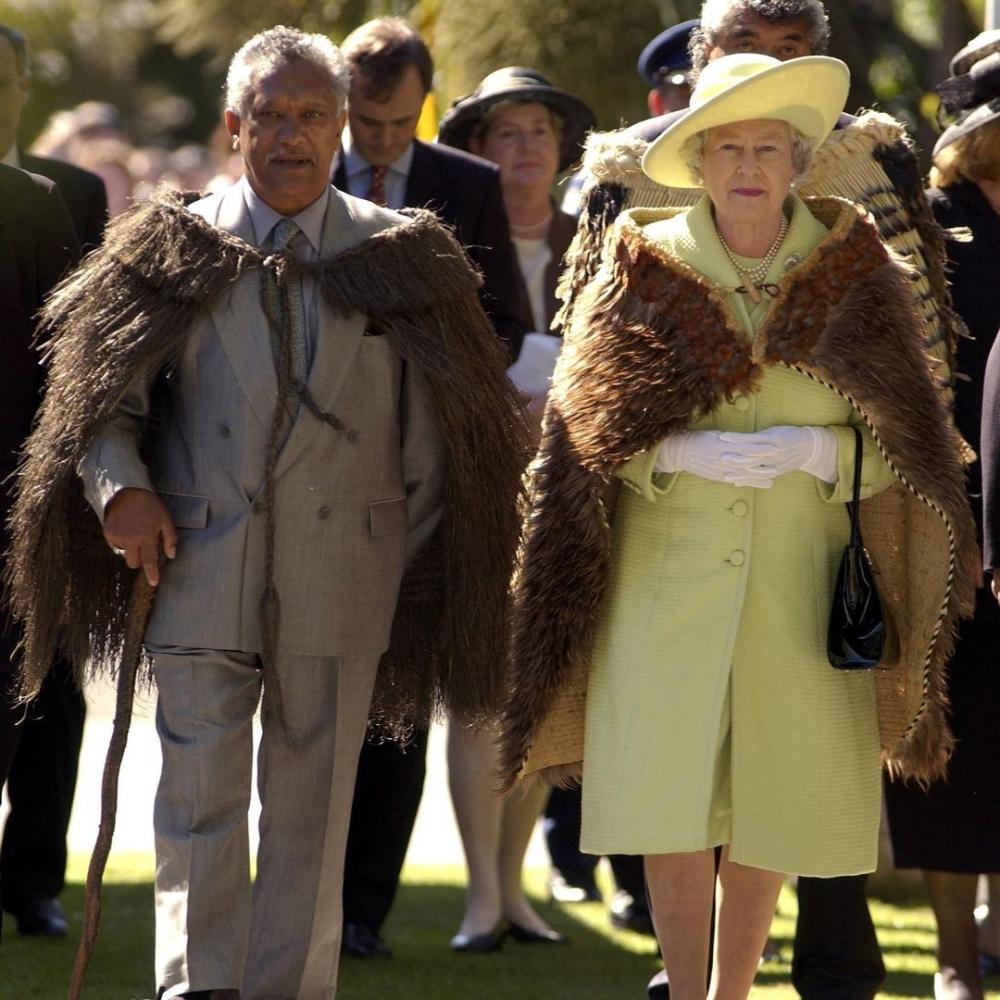 女王的工作需要常常接待外賓