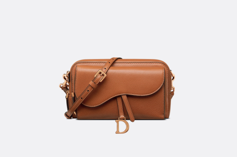 DIOR Double Saddle Pouch