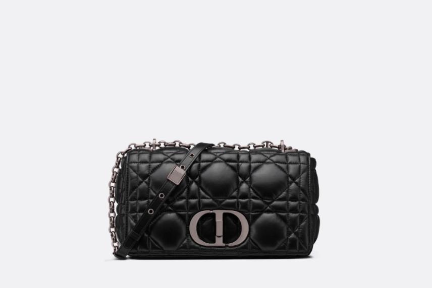 全黑Dior Caro包