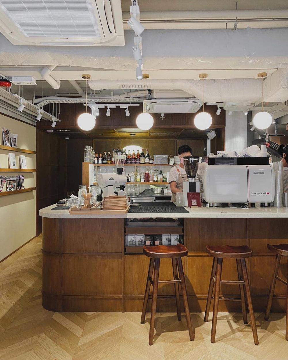 在店中又著香濃的咖啡香,讓人在其中享受
