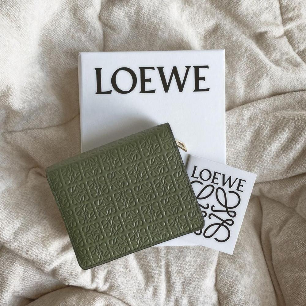 CHANEL、CELINE、LOEWE等不同品牌每季都會不約而同推出垂蓋銀包