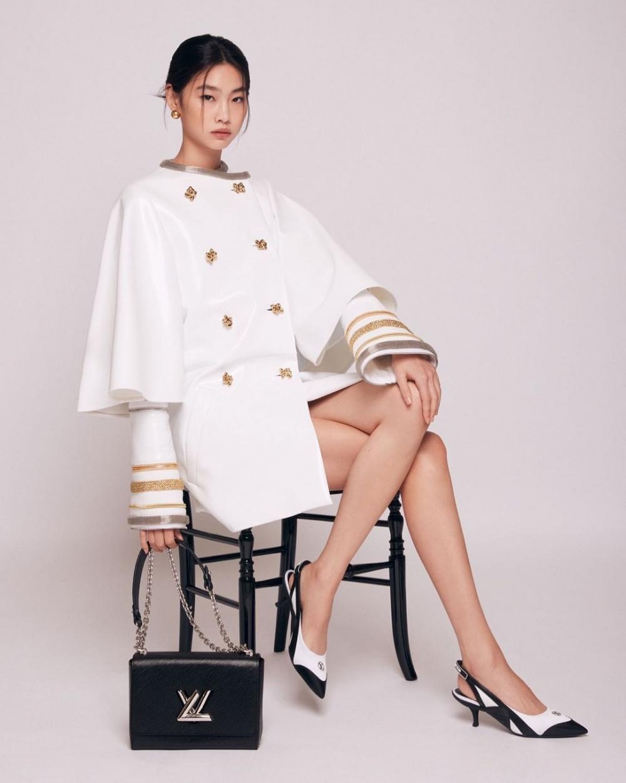 《魷魚遊戲》的鄭浩妍出任LV新任品牌大使,釋出最新的形象照