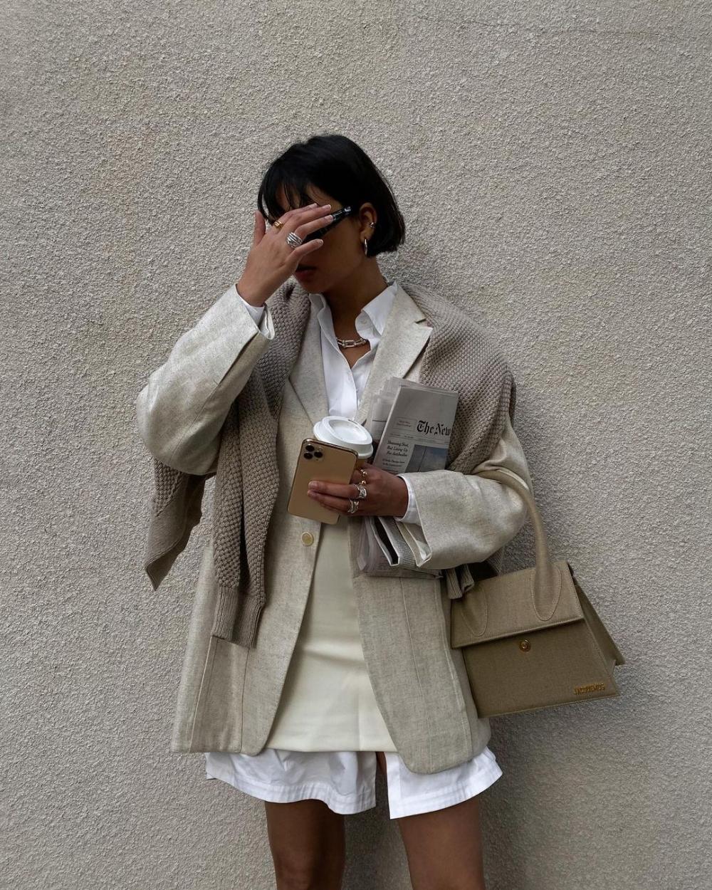 多層次穿搭能帶人我們許多驚喜的時尚造型